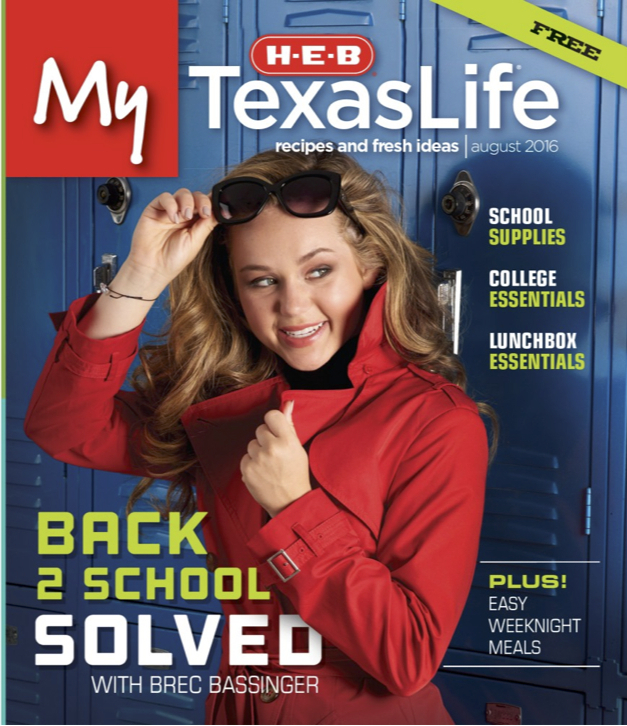 HEB My Texas Life: August 2016